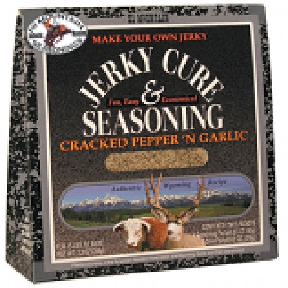 Hi Mountain Jerky Seasoning Cracked Pepper & Garlic Blend