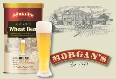 Morgans Premium Gold Sheaf Wheat Beer