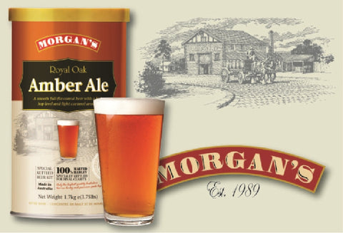 Morgans Premium Royal Oak Amber Ale