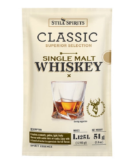 Still Spirit Classic Single Malt Whiskey