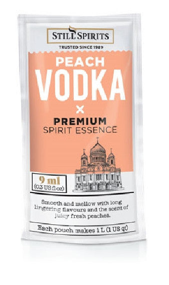 Still Spirit Vodka Peach
