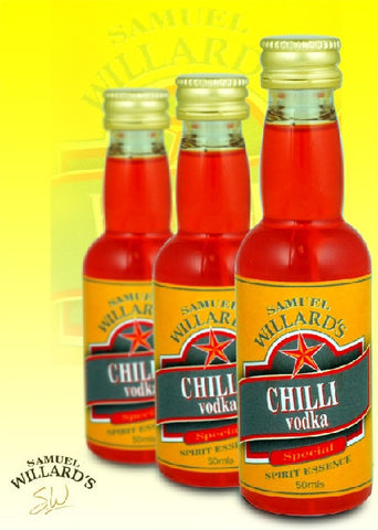 Willards Gold Star Chilli Vodka