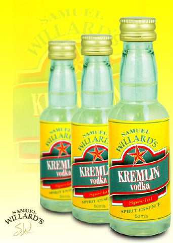 Willards Gold Star Kremlin Vodka