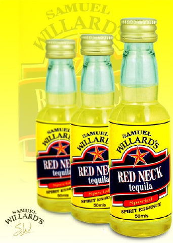 Willards Gold Star Red Neck Tequila