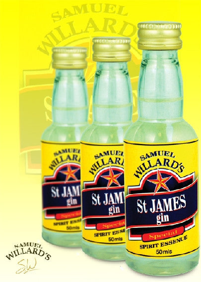 Willards Gold Star St James Gin