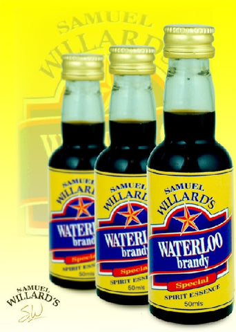 Willards Gold Star Waterloo Brandy