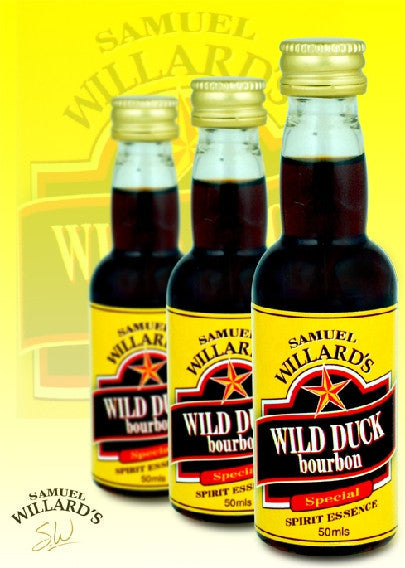 Willards Gold Star Wild Duck Bourbon