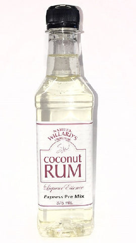 Willards Premix Coconut Rum 375ml