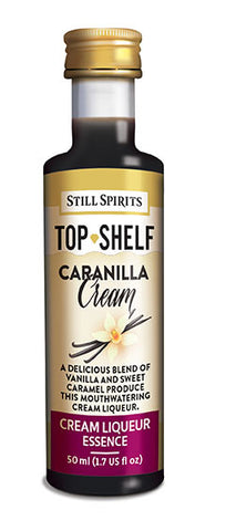 Top Shelf Caranilla Cream