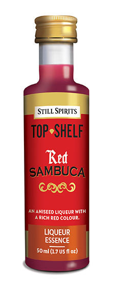Top Shelf Red Sambuca