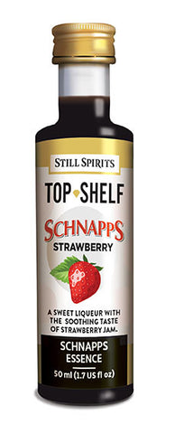 Top Shelf Strawberry Schnapps