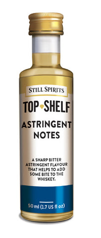 Top Shelf Astringent Notes