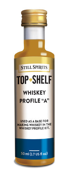 Top Shelf Whiskey Profile A