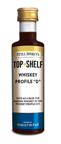 Top Shelf Whiskey Profile D
