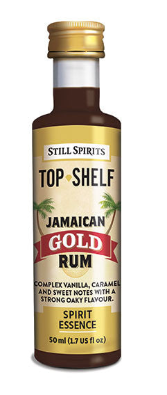 Top Shelf Jamaican Gold Rum