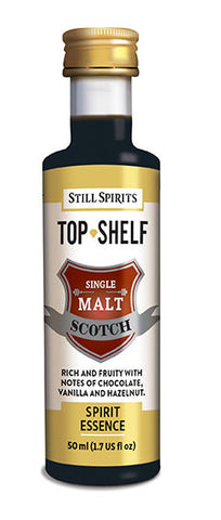 Top Shelf Single Malt Scotch