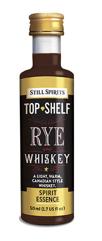Top Shelf Rye Whiskey