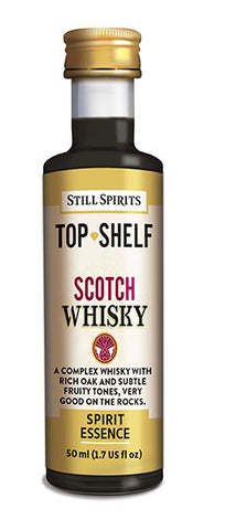 Top Shelf Scotch Whiskey