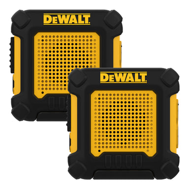 DEWALT DXFRS220 Business 1W Hands-Free Long Range Wearable FRS Two-Way Radio/Walkie Talkie, 2-Pack
