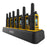 DEWALT DXFRS300-BCH6 - 6-Pack DXFRS300 Radio + Six Unit Gang Charger Bundle