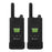 Cobra PX880 Pro Business 2W IP54 Water-Resistant Hands-Free Long Distance UHF Two-Way Radio, 2-Pack