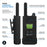 Cobra PX500-BCH6 Pro Business 1W IP54 Water-Resistant Hands-Free Extended Range UHF Two-Way Radio, 6-Pack + 6 Unit Charger
