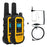 DEWALT DXFRS300-SV1 1W Dustproof Waterproof Shock Resistant Long Range FRS Two-Way Radio/Walkie Talkie + Headset