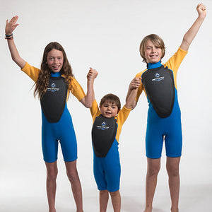 Airtime Watertime Youth Floater Wetsuit with Built In Flotation Pad and Extra Buoyancy