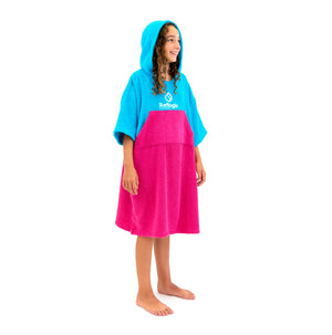 Surflogic Jr Surf Poncho Tween Size Hooded Towels