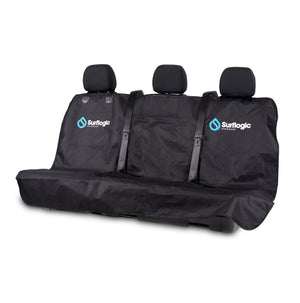 Surflogic Triple Seat Backseat Water Proof Car Cover with Access for Seatbelts and an Easy Clip Install System