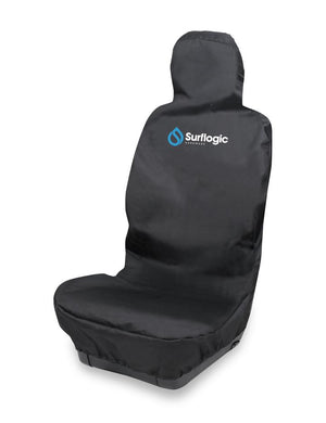 Surflogic Black Single Seat Waterproof Car Seat Cover