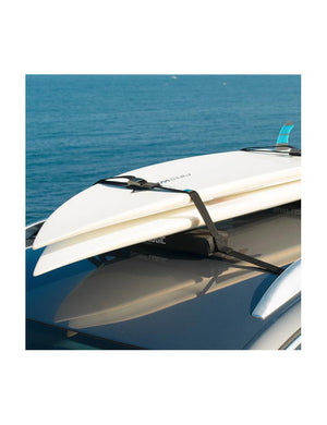 Soft Racks Single Side System Multiple Board Carrier for Car Roofs On Van With Two Shortboard SurfBoards