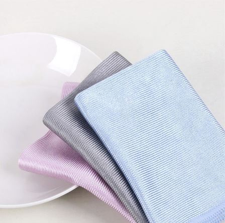 Microfiber Glass Cleaning Towel No Trace Lint 30*30cm Car Window Wine Glass Dedicated Washcloth Random Colours-Gifts-Gifts and Gadgets