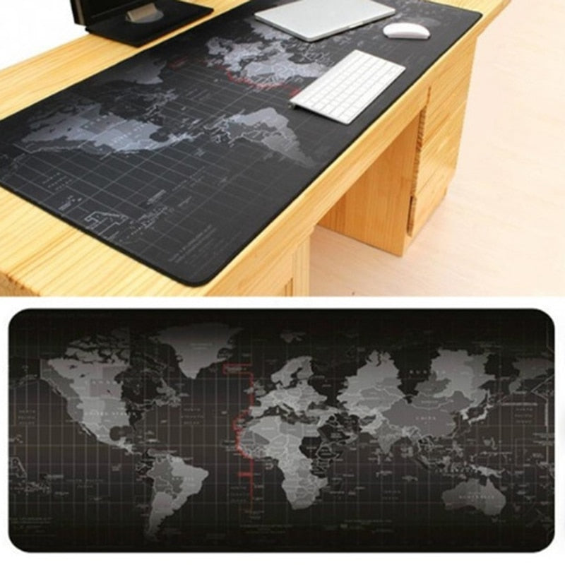 Large Old World Map Game Mouse Pad Mat Laptop Gaming Mousepad Rubber Mouse Pads Gamer Fashion Office Desk Pad-Gifts and Gadgets