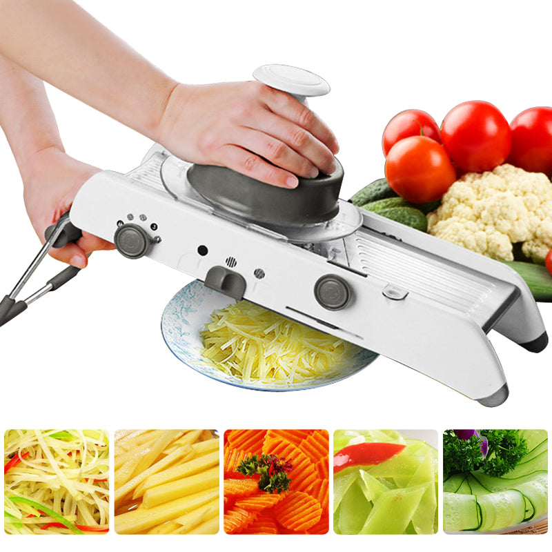Mandoline Slicer Manual Vegetable Cutter Professional Grater With Adjustable 304 Stainless Steel Blades Vegetable Kitchen Tool-Gifts and Gadgets