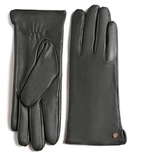 Load image into Gallery viewer, Women's Touchscreen Lambskin Dress Leather Gloves Flat Design