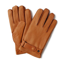 Load image into Gallery viewer, Men's Deerskin Leather Gloves with Classical Belt