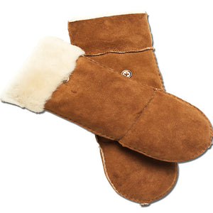 YISEVEN Women's Merino Sheepskin Shearling Leather Gloves
