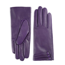 Load image into Gallery viewer, Women's Touchscreen Lambskin Dress Leather Gloves Buttoned Cuff