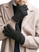 Load image into Gallery viewer, Men's Merino Rugged Sheepskin Shearling Leather Gloves
