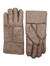 Load image into Gallery viewer, YISEVEN Men's Winter Sheepskin Shearling Leather Gloves Flip Cuff