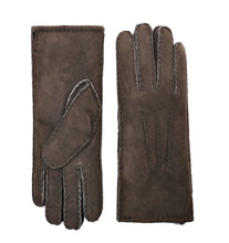 Load image into Gallery viewer, YISEVEN Women's Merino Lambskin Shearling Leather Gloves Three Points