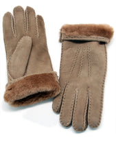 Load image into Gallery viewer, YISEVEN Womens Winter Sheepskin Leather Shearling Gloves Driving Fur Lined