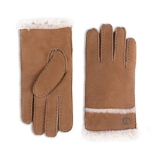 Load image into Gallery viewer, YISEVEN Women's Merino Sheepskin Shearling Leather Gloves Fur Cuff