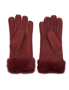 Women's Merino Sheepskin Shearling Leather Gloves