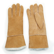 Load image into Gallery viewer, Women's Rugged Sheepskin Shearling Leather Gloves