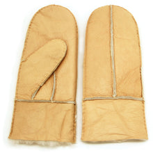 Load image into Gallery viewer, Women's Merino Shearling Leather Gloves Mitten