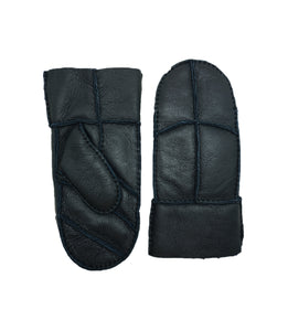 YISEVEN Women's Winter Merino Sheepskin Shearling Mitten Leather Gloves