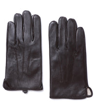 Load image into Gallery viewer, YISEVEN Men's Touchscreen Warm Fur Lined Lambskin Leather Gloves Snug Cuffs