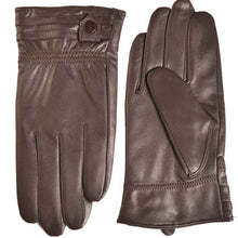 Load image into Gallery viewer, YISEVEN Men's Touchscreen Warm Fleece Fur Lined Sheepskin Leather Gloves